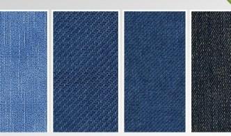 4 Colors Denim Fabric Background Textures