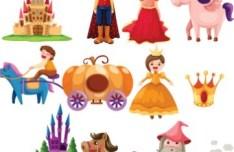 Cartoon Characters Vector Material