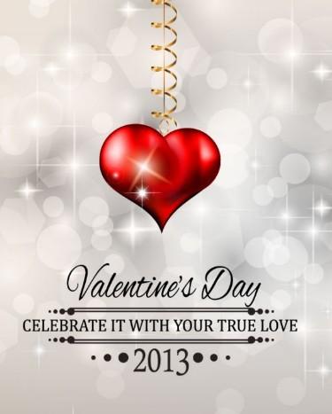 Fantastic Valentine's Day Vector Poster