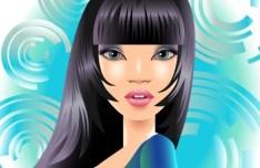 Fashion Pattern Girl Vector Illustration 54