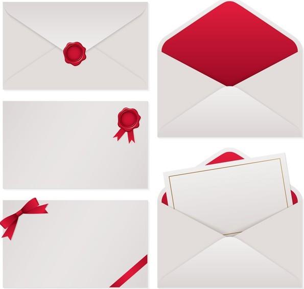 Free Elegant Envelope Design Templates 01 Titanui