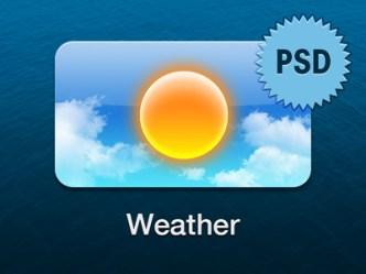 Apple TV Weather Icon