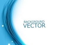 Blue Abstract Backgound Vector 01