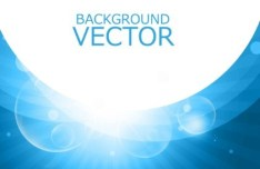 Blue Abstract Backgound Vector 05