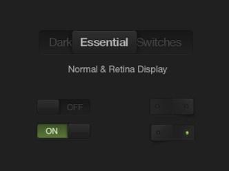 Dark Essential Switches
