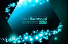 HI-Tech Futuristic Abstract Background Vector 05
