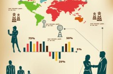 Vector Business Infographic Template 01