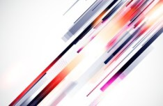 Colorful HI-Tech Abstract Background Vector 02
