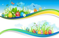 Happy Easter Design Elements Vector 05