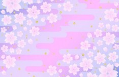 Lovely Flower Background Vector 02
