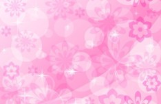Lovely Flower Background Vector 04