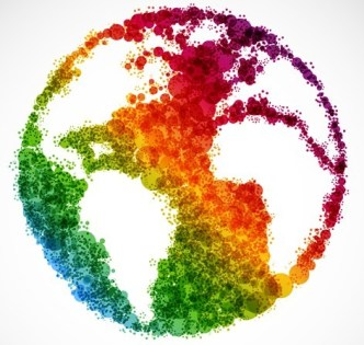 Save The Earth Concept Vector Background