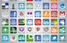 Mauricio Marks' 3D Social Icon Set