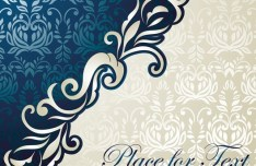 Noble and Elegant Invitation Card Cover Design Vector 01