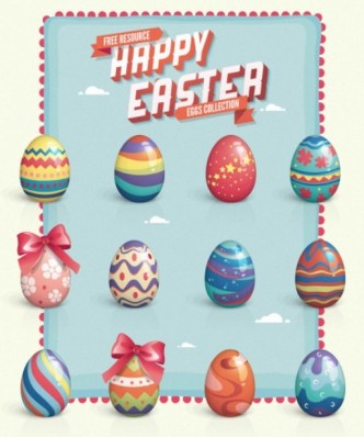 Happy Easter Eggs Collection