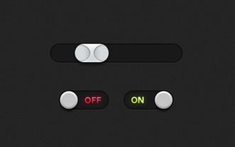 Clean Switch & Slider PSD