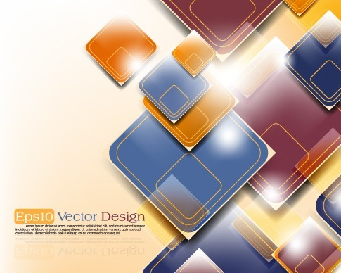 Stylish Technology Background with Geometry Patterns 06