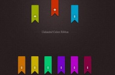 Unlimited Colors Ribbons Vector