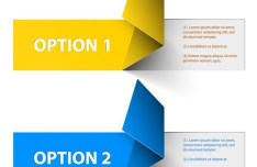 Vector Colored Numeric Option Labels 02