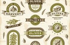 Vintage Premium Quality Vector Labels