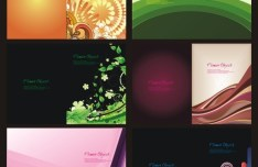 Creative Picture Album Cover Design Vector 01