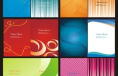 Creative Picture Album Cover Design Vector 02