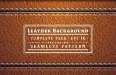 Seamless Leather and Accessories Patterns Vector 03
