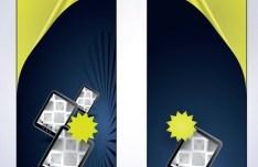 Vector iPad Sales Banners Design 01