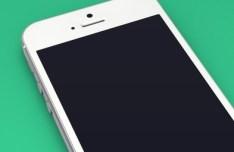 iPhone 5 3D Template PSD
