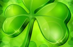 St.Patrick's Day Shamrock Template Vector 05