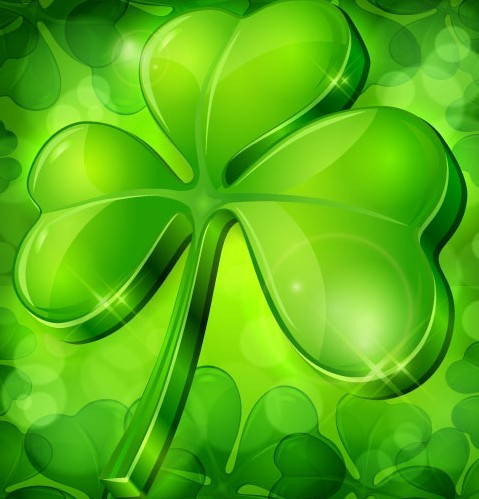Free St.Patrick'S Day Shamrock Template Vector 04 - Titanui