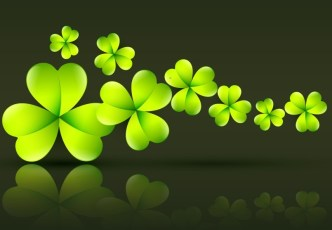 St.Patrick's Day Shamrock Template Vector 08