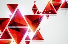 Sleek Abstract Geometry Background Vector 03