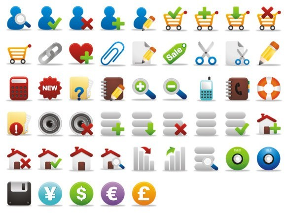 Fresh Small Web Icons Pack
