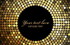 Colorful Shining Mosaic Vector Background 02