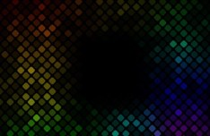 Colorful Shining Mosaic Vector Background 04