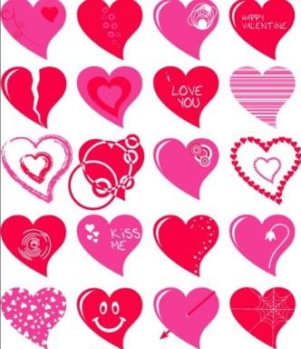 Lovely Vector Heart Design 02