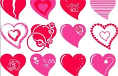 Lovely Vector Heart Design 02