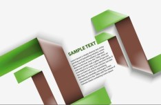 Fashion Origami Step Options Vector Label For Infographic 08