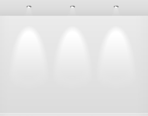 Simple Light Vector Presentation Shelf 01