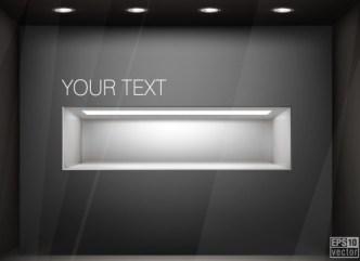 Simple Light Vector Presentation Shelf 03