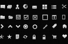 40 High Quality Web UI Icons