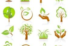 Green ECO Concept Vector Elements 02