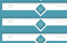Simple Number Options Vector Labels 01