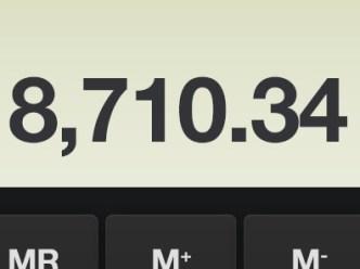 iOS Calculator Revamped PSD