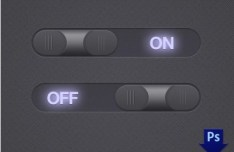 Midnight Toggle Switches PSD