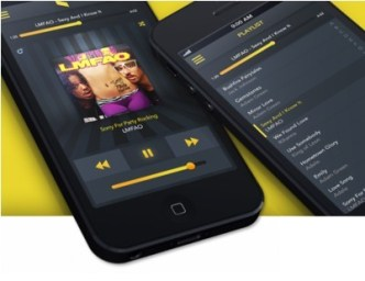 Music Player and Playlist PSD Interface For Mobile