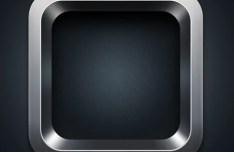 Steel iOS App Icon Templates PSD