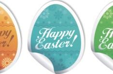 Creative Easter Eggs Design Vector 01