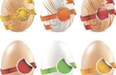 Creative Easter Eggs Design Vector 02
